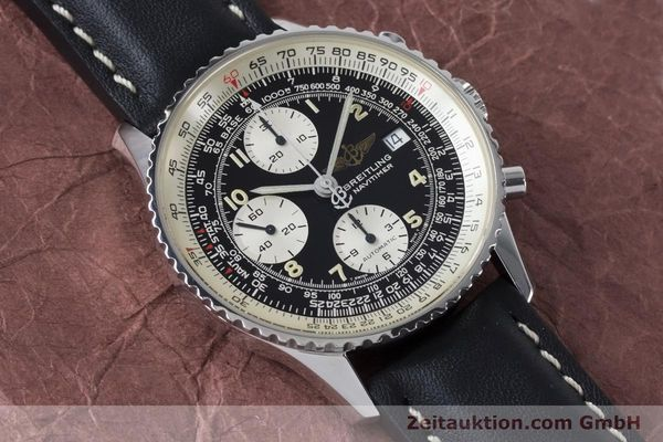 Used luxury watch Breitling Navitimer chronograph steel automatic Kal. B13 ETA 7750 Ref. A13022  | 161028 12