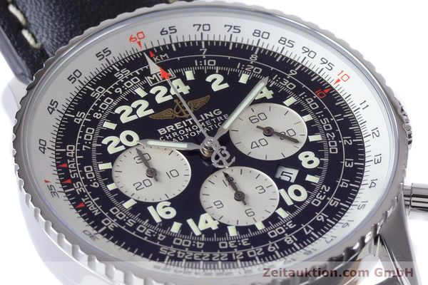 Used luxury watch Breitling Navitimer chronograph steel automatic Kal. B22 ETA 2892A2 Ref. A22322  | 161033 02