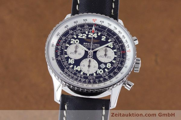 Used luxury watch Breitling Navitimer chronograph steel automatic Kal. B22 ETA 2892A2 Ref. A22322  | 161033 04