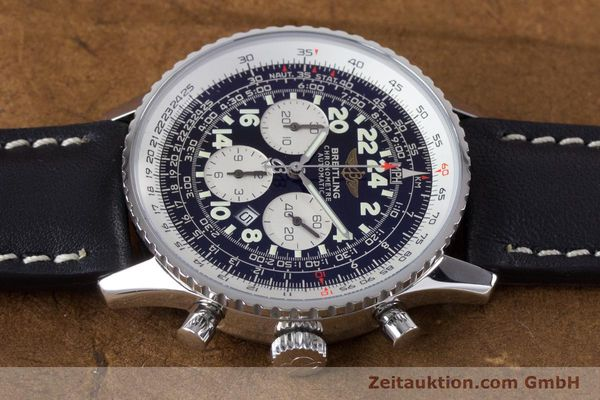 Used luxury watch Breitling Navitimer chronograph steel automatic Kal. B22 ETA 2892A2 Ref. A22322  | 161033 05
