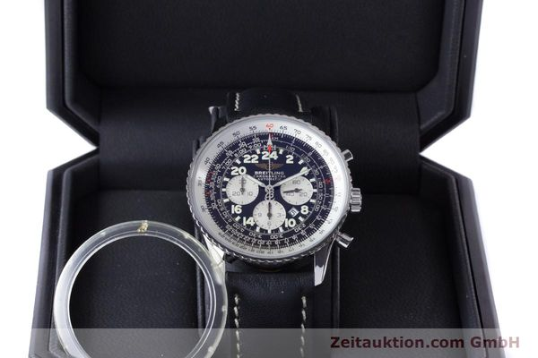 Used luxury watch Breitling Navitimer chronograph steel automatic Kal. B22 ETA 2892A2 Ref. A22322  | 161033 07