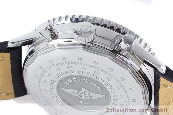 Used luxury watch Breitling Navitimer chronograph steel automatic Kal. B22 ETA 2892A2 Ref. A22322  | 161033 08