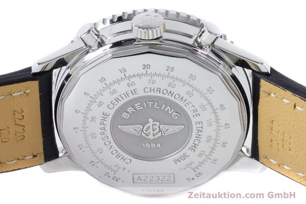 Used luxury watch Breitling Navitimer chronograph steel automatic Kal. B22 ETA 2892A2 Ref. A22322  | 161033 10