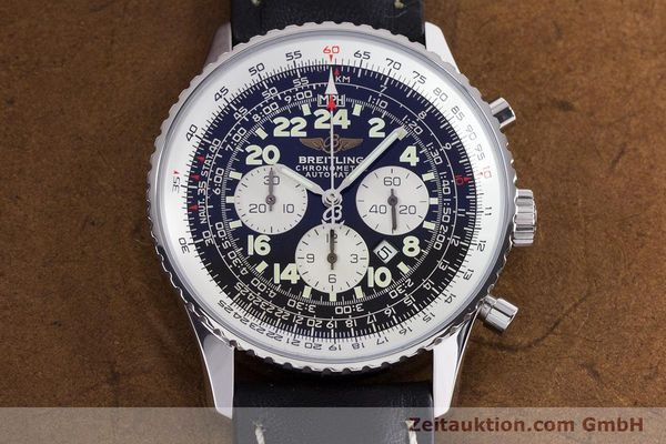 Used luxury watch Breitling Navitimer chronograph steel automatic Kal. B22 ETA 2892A2 Ref. A22322  | 161033 15