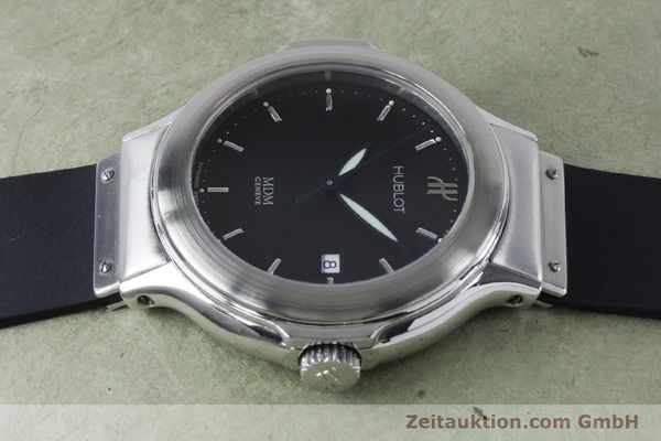 Used luxury watch Hublot MDM steel automatic Kal. ETA 2000-1 Ref. 1430.1  | 161034 05