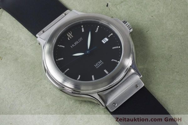Used luxury watch Hublot MDM steel automatic Kal. ETA 2000-1 Ref. 1430.1  | 161034 14
