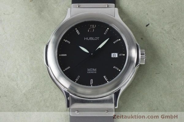 Used luxury watch Hublot MDM steel automatic Kal. ETA 2000-1 Ref. 1430.1  | 161034 15