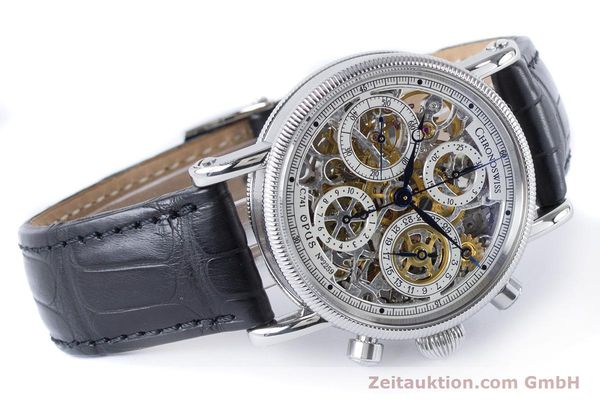 Used luxury watch Chronoswiss Sirius chronograph steel automatic Kal. 741 Ref. CH7523  | 161035 03