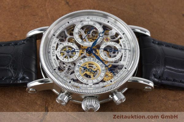 Used luxury watch Chronoswiss Sirius chronograph steel automatic Kal. 741 Ref. CH7523  | 161035 05