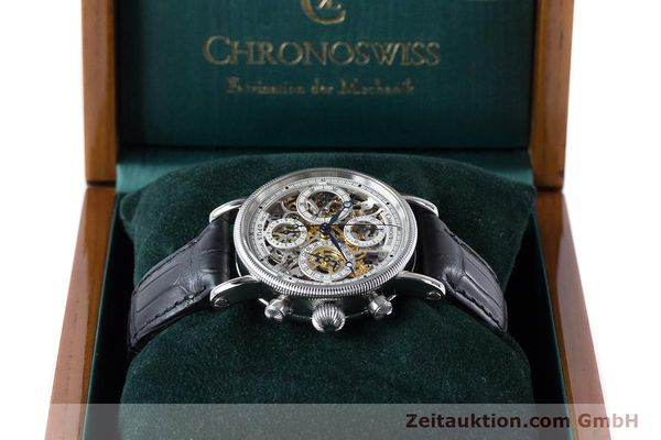 Used luxury watch Chronoswiss Sirius chronograph steel automatic Kal. 741 Ref. CH7523  | 161035 07