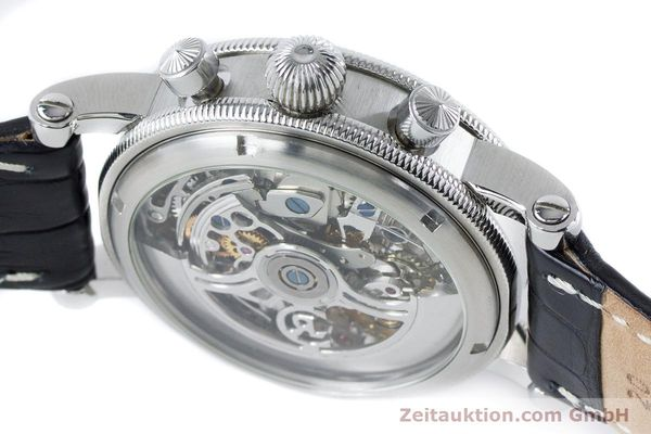 Used luxury watch Chronoswiss Sirius chronograph steel automatic Kal. 741 Ref. CH7523  | 161035 08