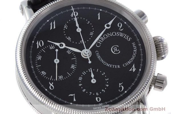 Used luxury watch Chronoswiss Kairos chronograph steel automatic Kal. 754 Ref. CH7523  | 161036 02