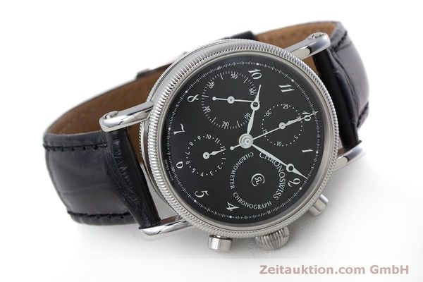 Used luxury watch Chronoswiss Kairos chronograph steel automatic Kal. 754 Ref. CH7523  | 161036 03