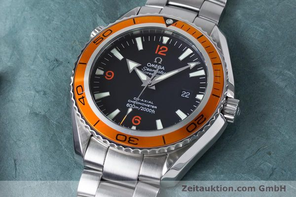 Used luxury watch Omega Seamaster steel automatic Kal. 2500C Ref. 232.30.46.21.01.002  | 161038 01