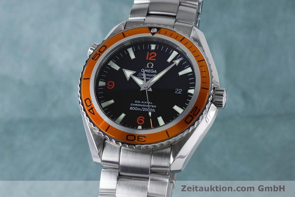Used luxury watch Omega Seamaster steel automatic Kal. 2500C Ref. 232.30.46.21.01.002  | 161038 04