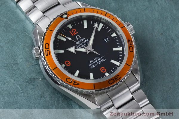 Used luxury watch Omega Seamaster steel automatic Kal. 2500C Ref. 232.30.46.21.01.002  | 161038 15