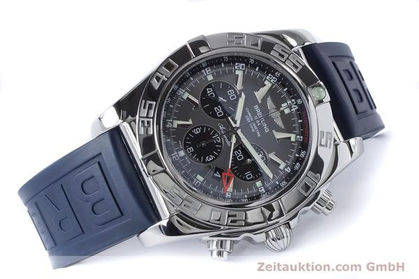 Used luxury watch Breitling Chronomat 47 chronograph steel automatic Kal. B04 Ref. AB0410  | 161039 03