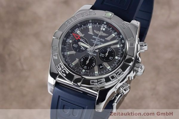 Used luxury watch Breitling Chronomat 47 chronograph steel automatic Kal. B04 Ref. AB0410  | 161039 04