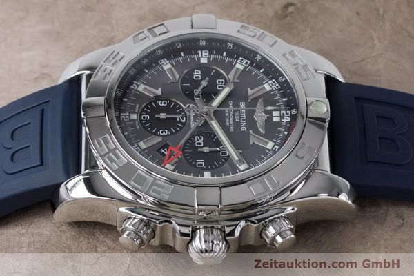 Used luxury watch Breitling Chronomat 47 chronograph steel automatic Kal. B04 Ref. AB0410  | 161039 05