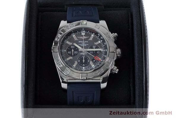 Used luxury watch Breitling Chronomat 47 chronograph steel automatic Kal. B04 Ref. AB0410  | 161039 07