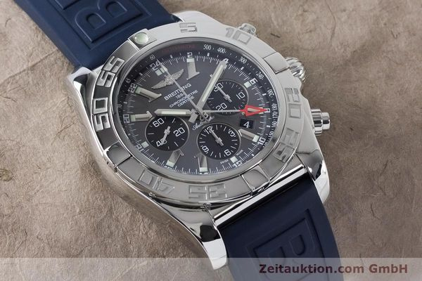 Used luxury watch Breitling Chronomat 47 chronograph steel automatic Kal. B04 Ref. AB0410  | 161039 14
