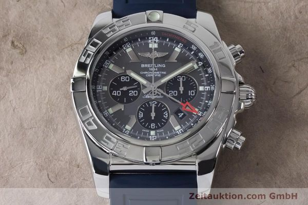Used luxury watch Breitling Chronomat 47 chronograph steel automatic Kal. B04 Ref. AB0410  | 161039 15