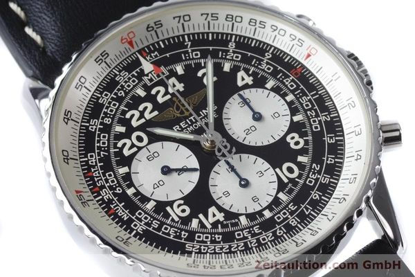 Used luxury watch Breitling Navitimer chronograph steel manual winding Kal. LWO 1873 Ref. A12023  | 161040 02