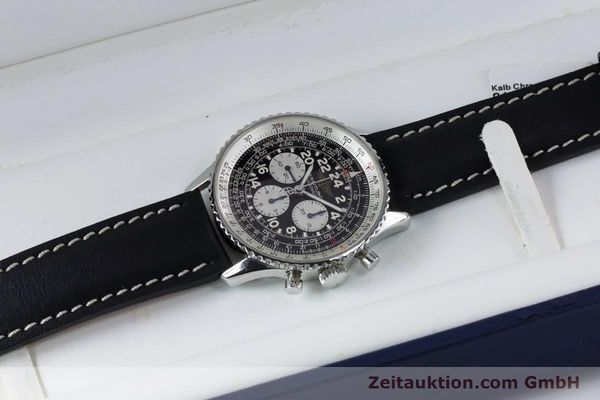 Used luxury watch Breitling Navitimer chronograph steel manual winding Kal. LWO 1873 Ref. A12023  | 161040 07