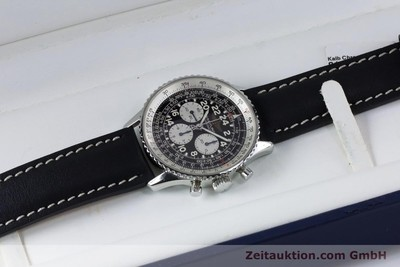 BREITLING NAVITIMER CHRONOGRAPH STEEL MANUAL WINDING KAL. LWO 1873 LP: 7000EUR [161040]