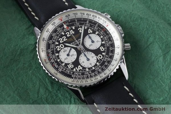 Used luxury watch Breitling Navitimer chronograph steel manual winding Kal. LWO 1873 Ref. A12023  | 161040 12