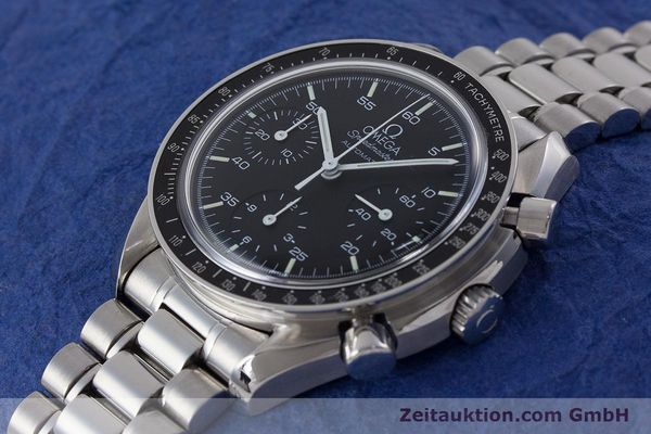 Used luxury watch Omega Speedmaster chronograph steel automatic Kal. 3220  | 161041 01