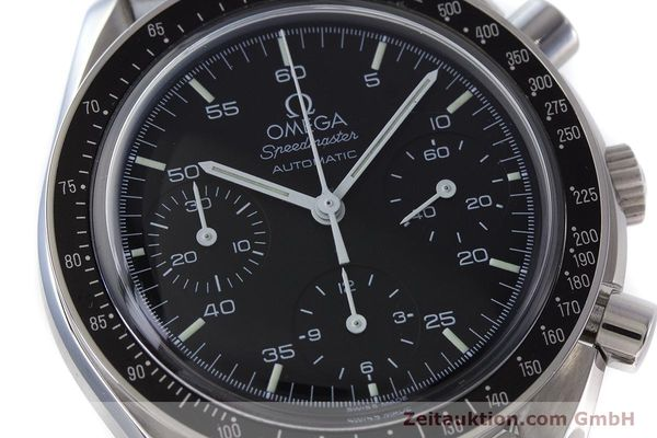 Used luxury watch Omega Speedmaster chronograph steel automatic Kal. 3220  | 161041 02