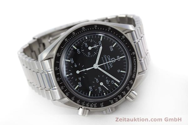 Used luxury watch Omega Speedmaster chronograph steel automatic Kal. 3220  | 161041 03