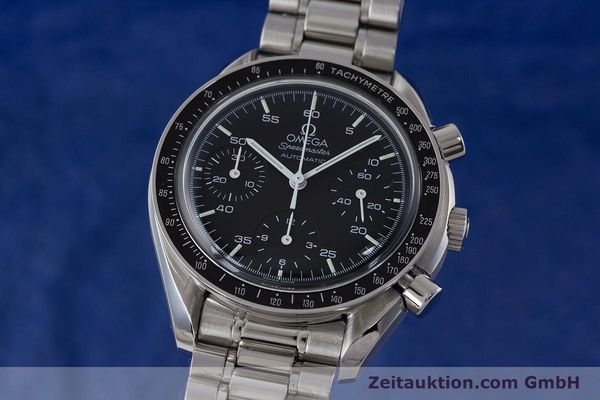 Used luxury watch Omega Speedmaster chronograph steel automatic Kal. 3220  | 161041 04