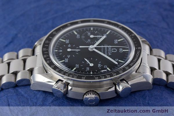Used luxury watch Omega Speedmaster chronograph steel automatic Kal. 3220  | 161041 05