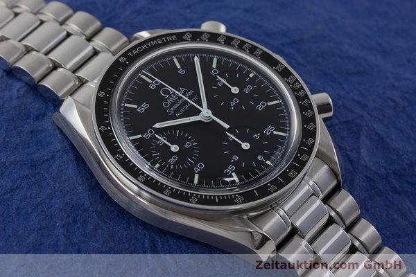 Used luxury watch Omega Speedmaster chronograph steel automatic Kal. 3220  | 161041 15