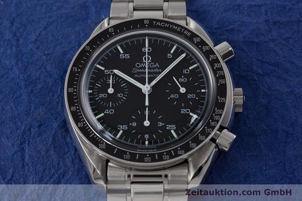Used luxury watch Omega Speedmaster chronograph steel automatic Kal. 3220  | 161041 16