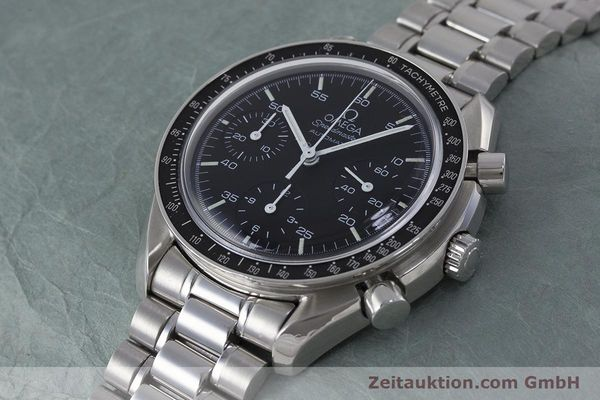 Used luxury watch Omega Speedmaster chronograph steel automatic Kal. 1143 ETA 2890A2 Ref. 3510.50.00  | 161047 01
