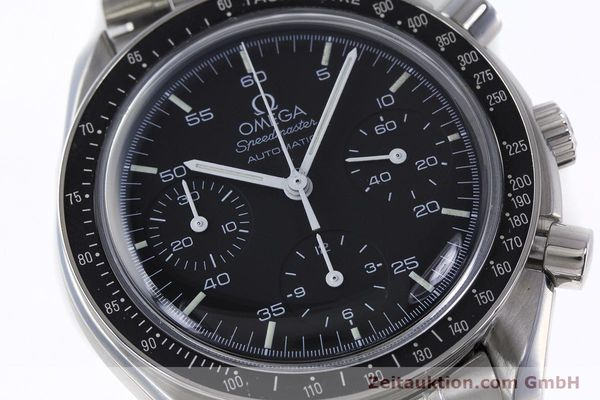 Used luxury watch Omega Speedmaster chronograph steel automatic Kal. 1143 ETA 2890A2 Ref. 3510.50.00  | 161047 02