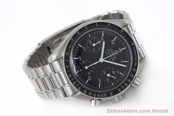 Used luxury watch Omega Speedmaster chronograph steel automatic Kal. 1143 ETA 2890A2 Ref. 3510.50.00  | 161047 03