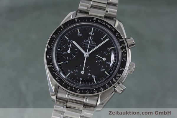 Used luxury watch Omega Speedmaster chronograph steel automatic Kal. 1143 ETA 2890A2 Ref. 3510.50.00  | 161047 04