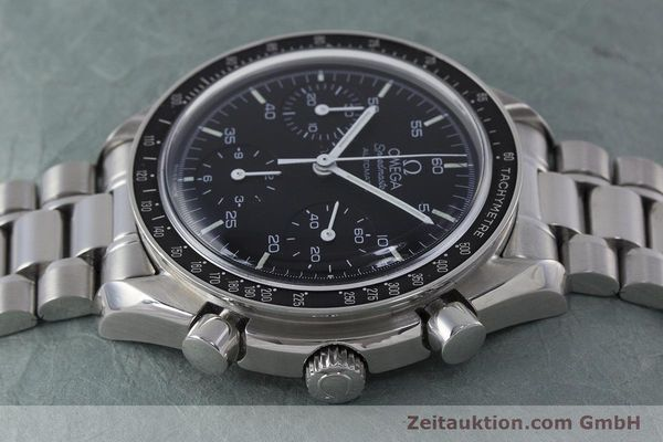Used luxury watch Omega Speedmaster chronograph steel automatic Kal. 1143 ETA 2890A2 Ref. 3510.50.00  | 161047 05