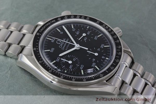Used luxury watch Omega Speedmaster chronograph steel automatic Kal. 1143 ETA 2890A2 Ref. 3510.50.00  | 161047 15