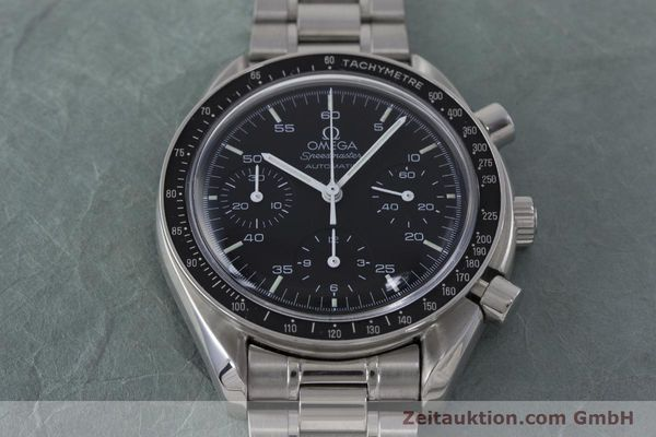 Used luxury watch Omega Speedmaster chronograph steel automatic Kal. 1143 ETA 2890A2 Ref. 3510.50.00  | 161047 16