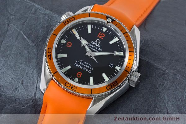 Used luxury watch Omega Seamaster steel automatic Kal. 2500C Ref. 29095038  | 161048 01