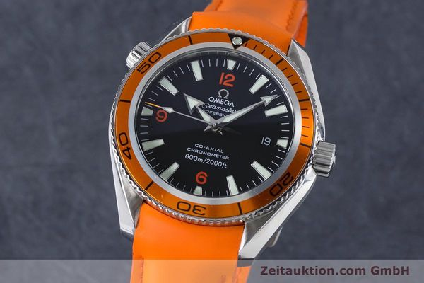 Used luxury watch Omega Seamaster steel automatic Kal. 2500C Ref. 29095038  | 161048 04