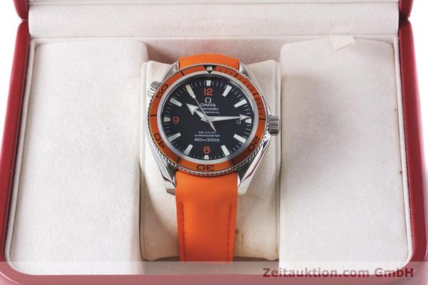 Used luxury watch Omega Seamaster steel automatic Kal. 2500C Ref. 29095038  | 161048 07