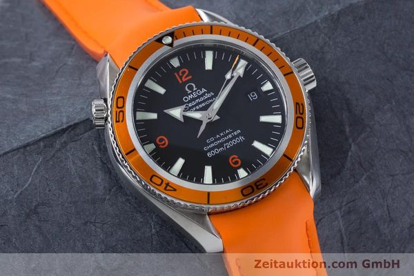 Used luxury watch Omega Seamaster steel automatic Kal. 2500C Ref. 29095038  | 161048 17