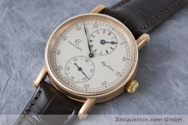 Used luxury watch Chronoswiss Regulateur bronze manual winding Kal. Unitas 6376 Ref. CH6327A VINTAGE  | 161052 01
