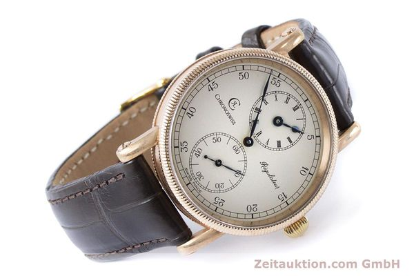 Used luxury watch Chronoswiss Regulateur bronze manual winding Kal. Unitas 6376 Ref. CH6327A VINTAGE  | 161052 03